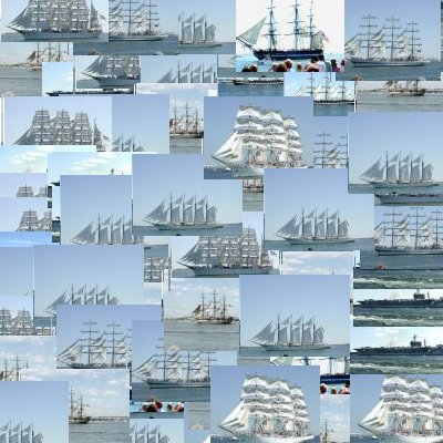 Paint Shop Pro Tube using pictures from Tall Ships